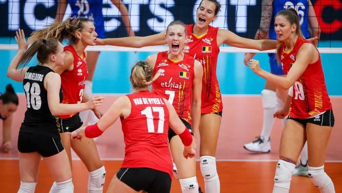 Euro de volley féminin: la Belgique renverse la Russie au terme d'un match haletant
