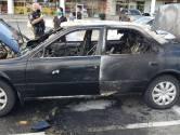 Man steekt per ongeluk eigen auto in brand als hij desinfecterende gel gebruikt