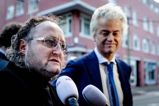 Dion Graus en Geert Wilders.