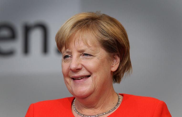 Duits bondskanselier Angela Merkel. Beeld AFP