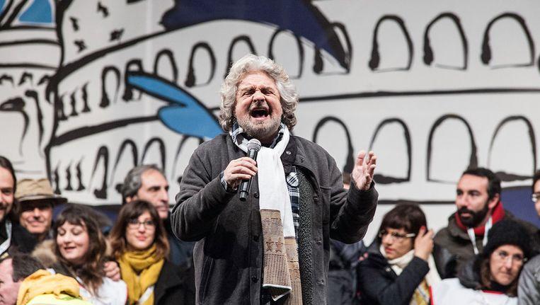 Beppe Grillo Beeld getty