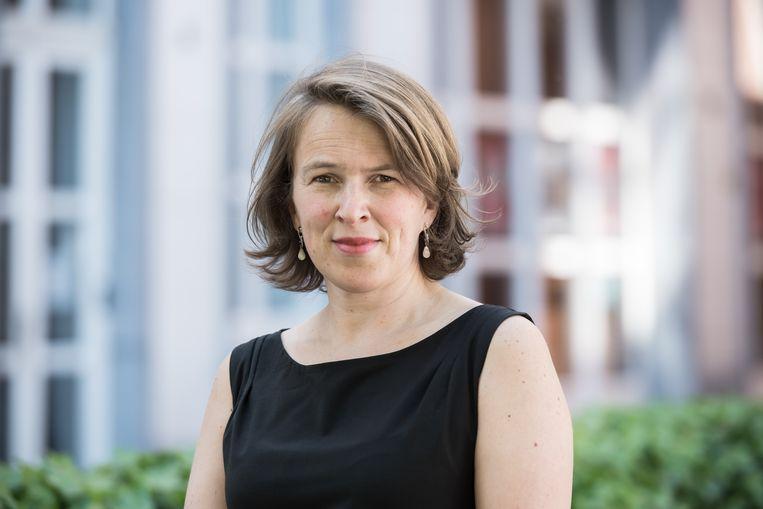 Letterenhuis-directeur Nele Hendrickx: 'Een van de mooiste moederboeken ooit.' Beeld rv/Tom Cornille