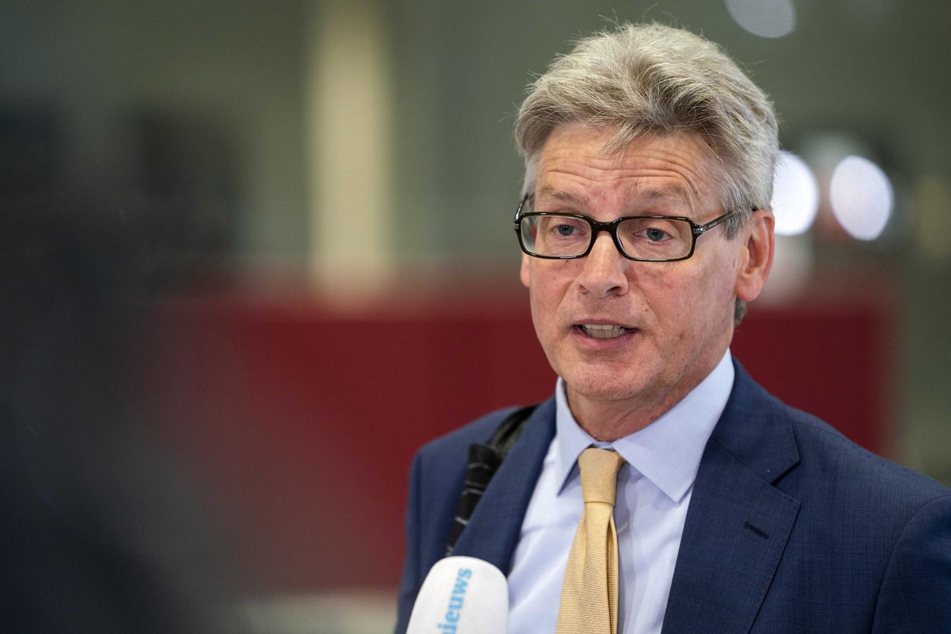 Burgemeester Lucas Bolsius van Amersfoort ziet een avondklok niet zitten.