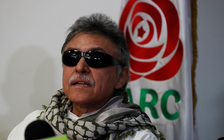 Jesús Santrich, geboren als Seuxis Pausias Hernández Solarte, stierf in het harnas. Beeld Hollandse Hoogte / EPA