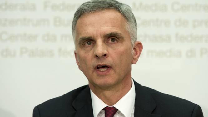 Zwitserse president wil compromis met EU vinden