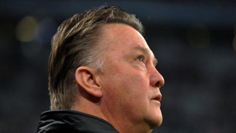 Bayern-trainer Louis van Gaal. ANP Beeld
