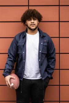 American Football-talent uit Arnhem (19 jaar, 1,93 lang, 125 kilo) moet American Dream uitstellen