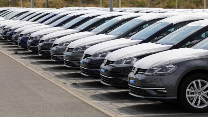 Minste aantal inschrijvingen van nieuwe voertuigen in tien jaar