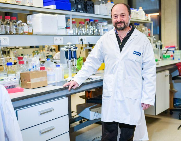 Prof. Bart De Strooper, VIB-KULeuven-onderzoeker die in Londen aan het hoofd staat van het Dementia Research Institute.