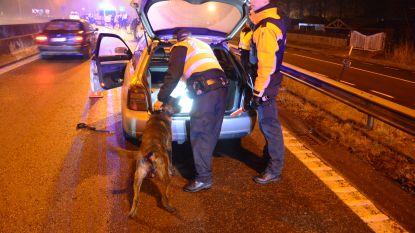 Chauffeur test positief op drugs tijdens controleactie 'Goliath'