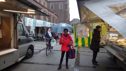 Wekelijkse markt nog tot eind dit jaar op Omer De Meyplein