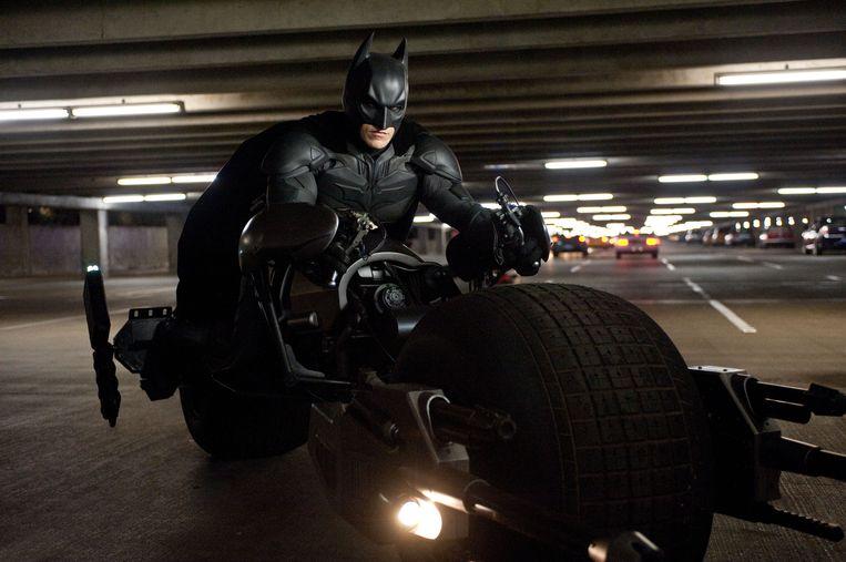 Christian Bale in 'The Dark Knight Rises'. Beeld AP