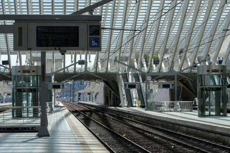 Het station van Luik. Beeld Photo News