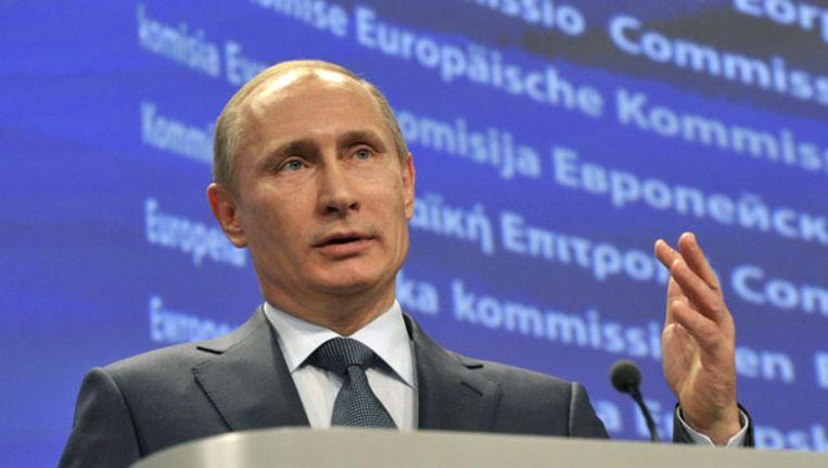 De betogers zien Poetin liever niet opnieuw als president. Beeld UNKNOWN