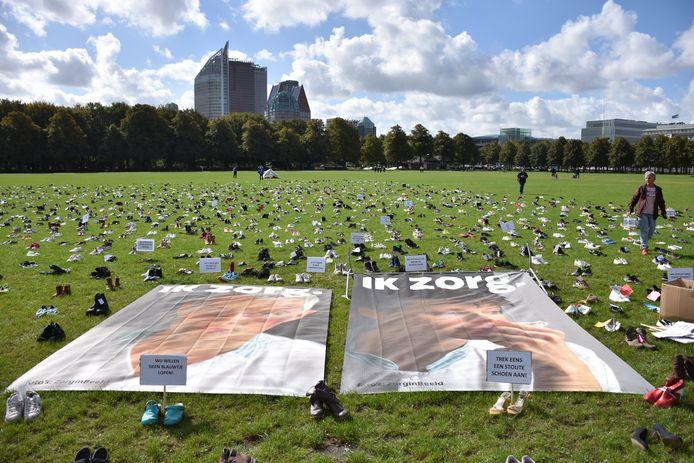 De afgelopen weken zijn er door heel Nederland schoenen ingezameld.