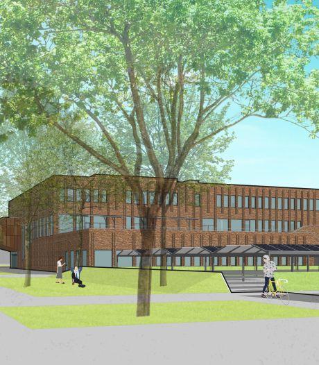 Weg vrij voor achthonderd leerlingen in gloednieuw schoolgebouw aan rand van centrum Zutphen