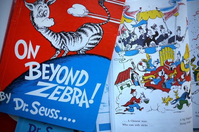 Nu omstreden boeken van Dr. Seuss met karikaturen van Chinezen.  Beeld Getty Images