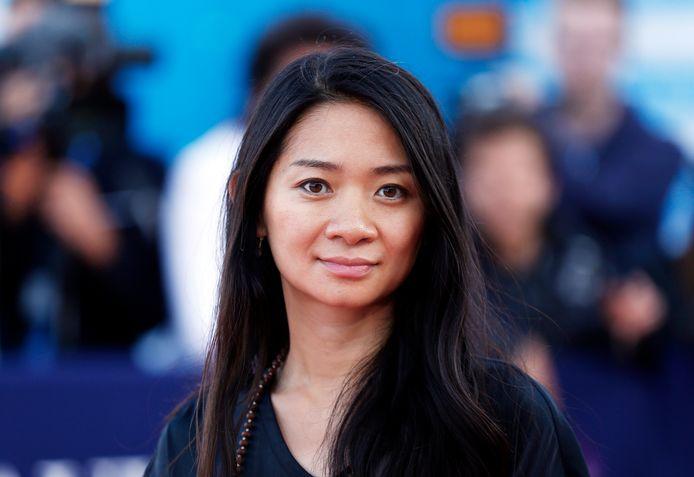 La réalisatrice Chloé Zhao.