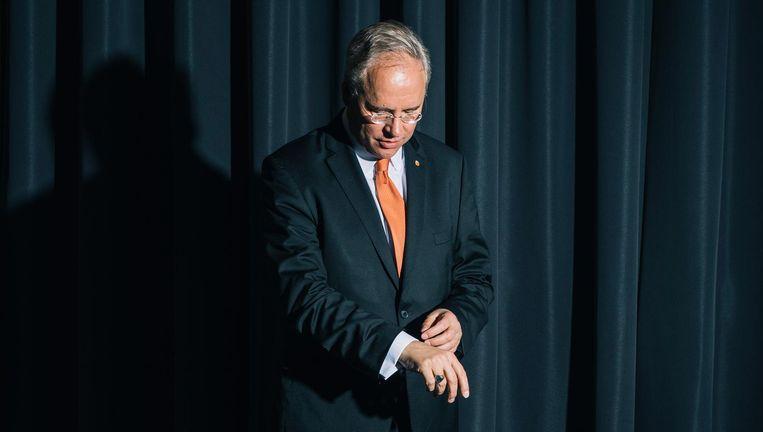 Karel van Oosterom, Permanent Vertegenwoordiger van Nederland bij de Verenigde Naties. Beeld Marcel Wogram