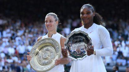Kerber verpest Serena's droom