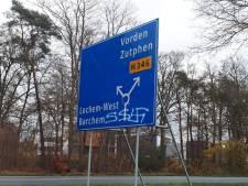 Verkeersborden in Lochem besmeurd met antisemitische teksten