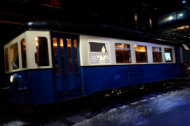 Expo: Kuifje in Train World Beeld Photo News