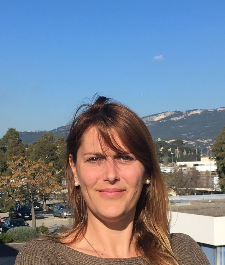 Onderzoekster Olivia Gérigny. Beeld PriveFoto