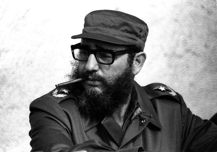 Fidel Castro in 1976. Beeld REUTERS