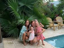 Twentse Vincent en Kasia ontvluchten met dochters de lockdown: 'Op Curaçao voelen we ons veilig en vrij'