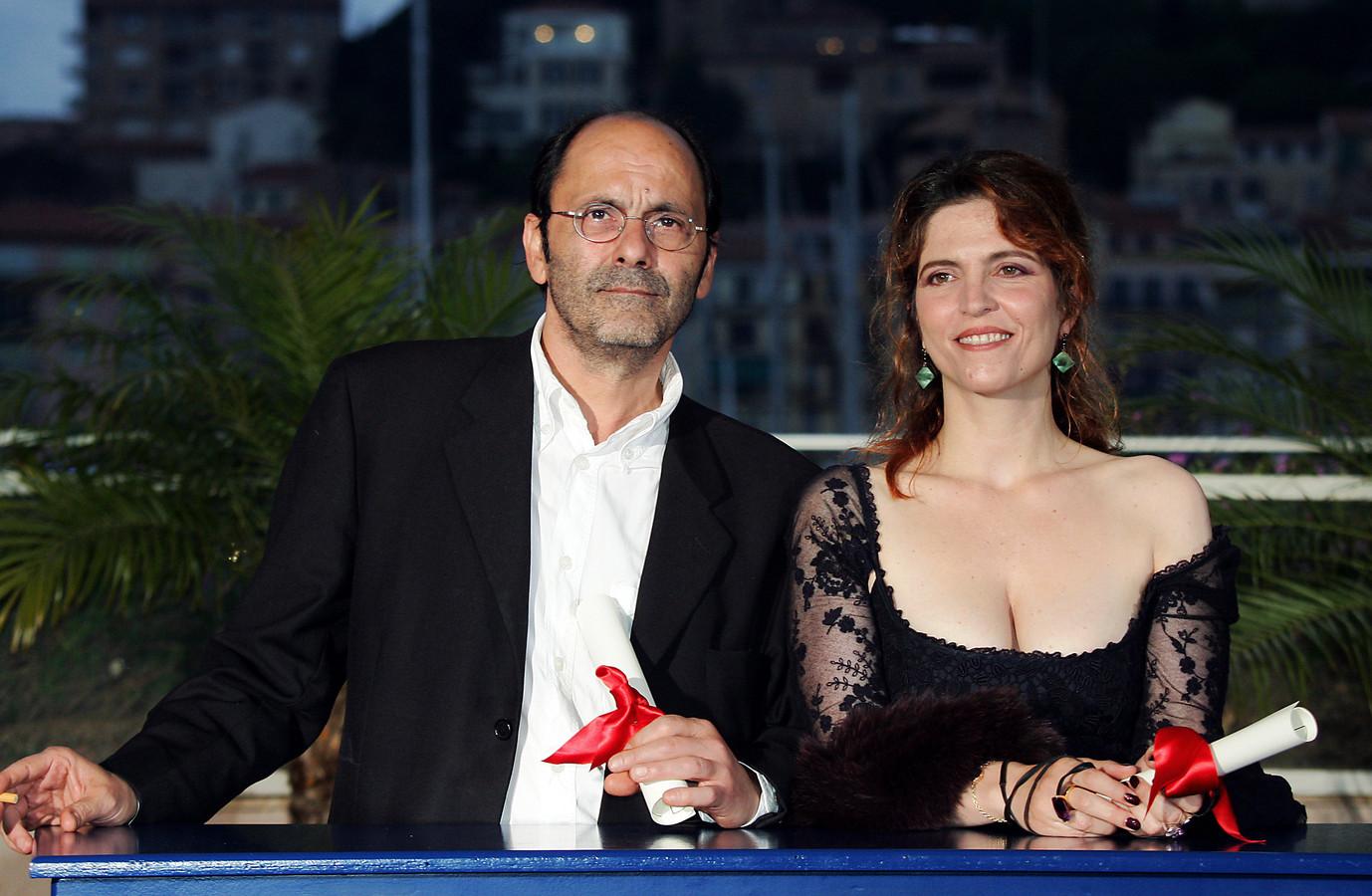 Avec Agnes Jaoui au Festival de Cannes.