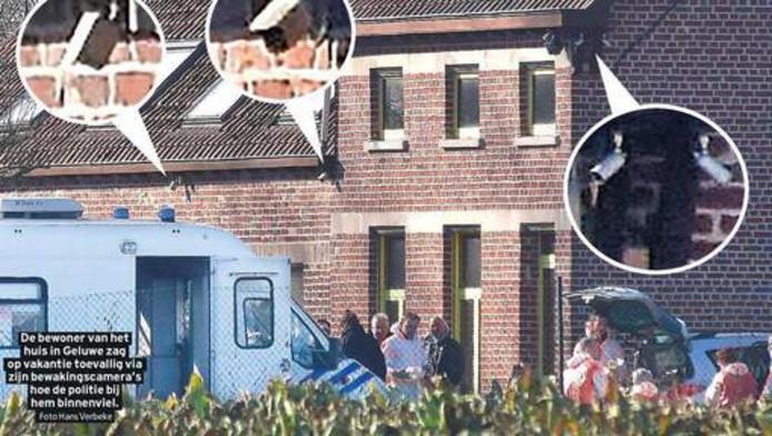 De camera's rond het huis van Wilfried H.