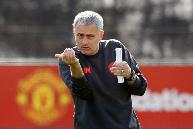 José Mourinho Beeld Jason Cairnduff/Photonews