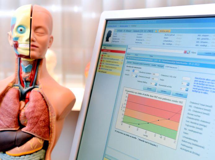 Artsen van Isala kunnen voortaan sneller zoeken in de enorme hoeveelheid data aan medische gegevens.