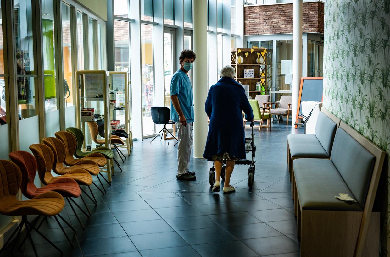 Woonzorgcentrum Damiaan in Tremelo. Beeld Joel Hoylaerts/Photo News