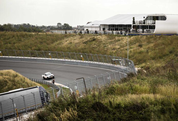 De opbouw voor de Formule 1 op Circuit Zandvoort.