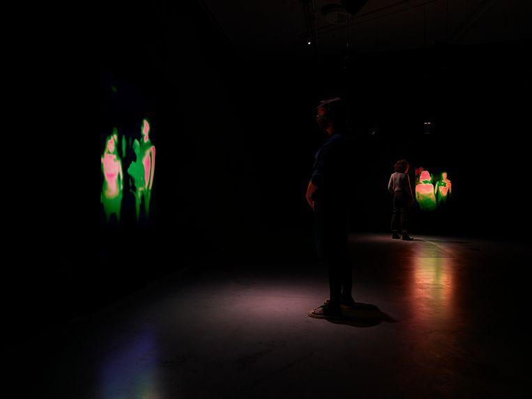 Lucrecia Martel, The Passage, 2021, Installatie met dieptecamera's.  Beeld Studio Hans Wilschut