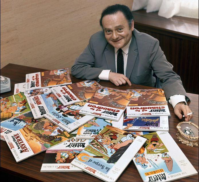 René Goscinny schreef scenario's voor Asterix.