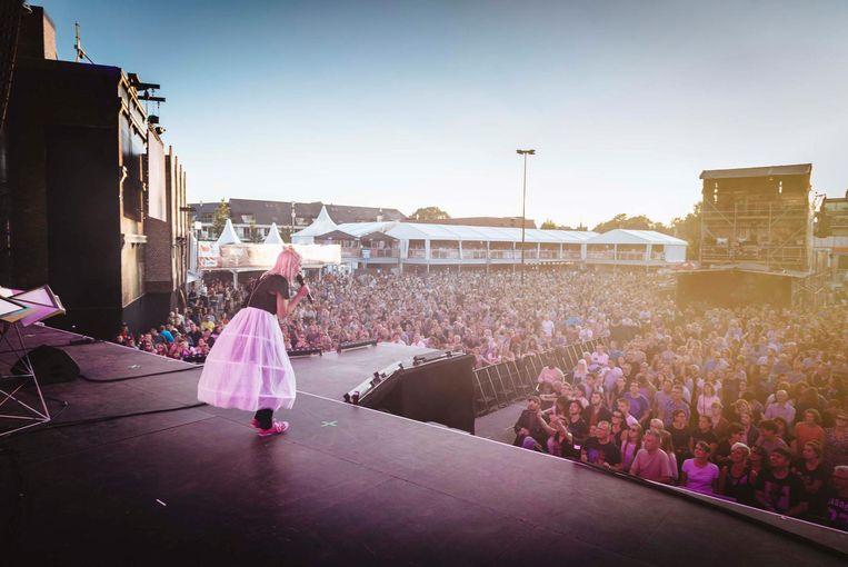 De Lokerse Feesten plannen dit jaar een 'alternatief om deze zomer toch muziek in Lokeren te laten klinken'. Beeld Illias Theirlinck