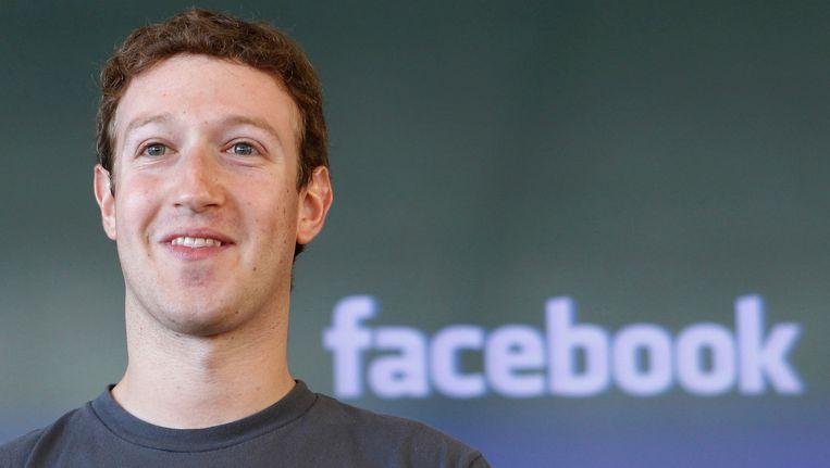 Mark Zuckerberg Beeld AP