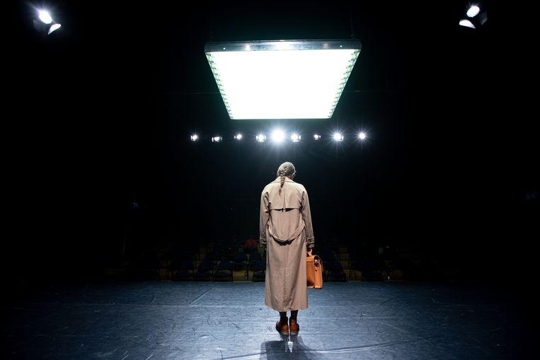 De voorstelling 'La Codista' van Marleen Scholten met Wunderbaum Beeld Luca Chiaudano