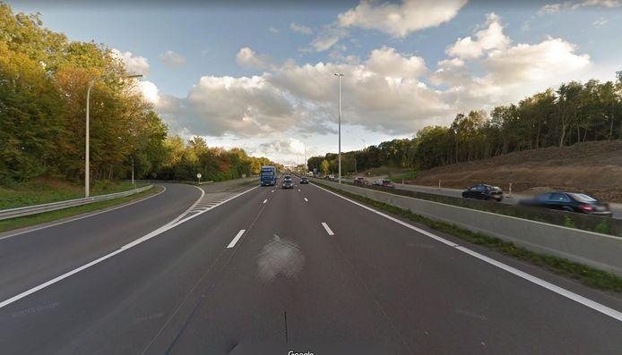 Illustratiebeeld. De E40 ter hoogte van Blegny.
