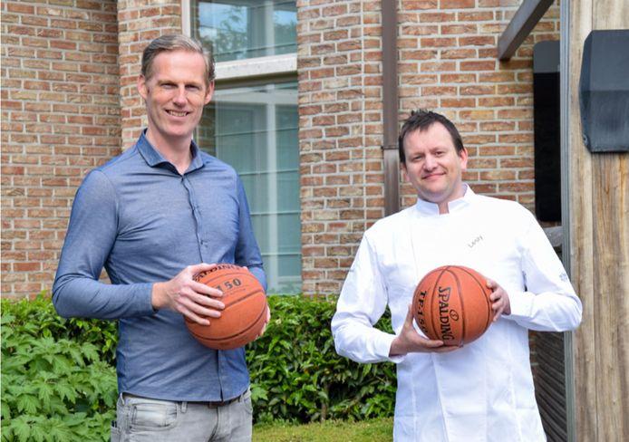 Jan Hiel van BBC Panters en Lesly Volkaert van Hof ter Velden hopen met de 'Paling 14-daagse' de kaap van 1.000 bestellingen te overschrijden.