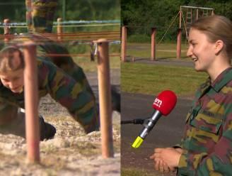 "Prinses Elisabeth beëindigt eerste deel van militair zomerkamp: ""Ik heb me enorm moeten aanpassen"""