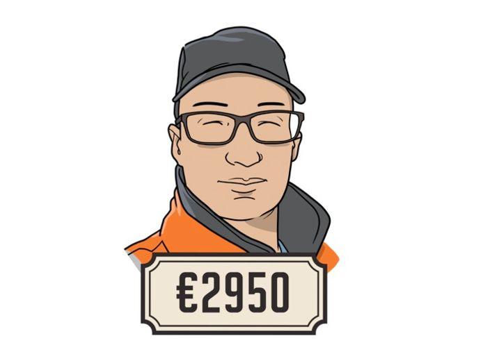 Sven (31) is eerste monteur.