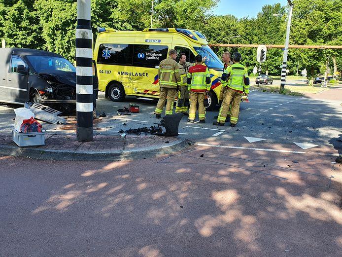 HARDERWIJK - ongeluk met ambulance