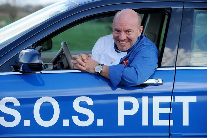 Piet Huysentruyt tijdens de hoogdagen van S.O.S. Piet.