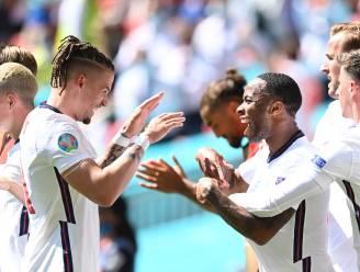 Engelsen trekken zege over de streep na knappe goal Sterling, Kroatië stelt teleur
