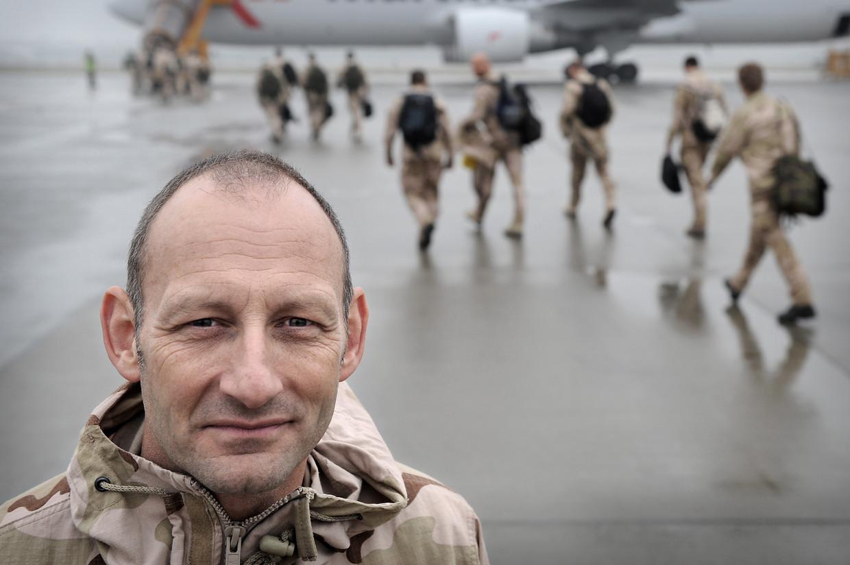 Generaal b.d. Mart de Kruif had een jaar lang de militaire leiding in het zuiden van Afghanistan. Beeld Hollandse Hoogte / Marcel van den Bergh