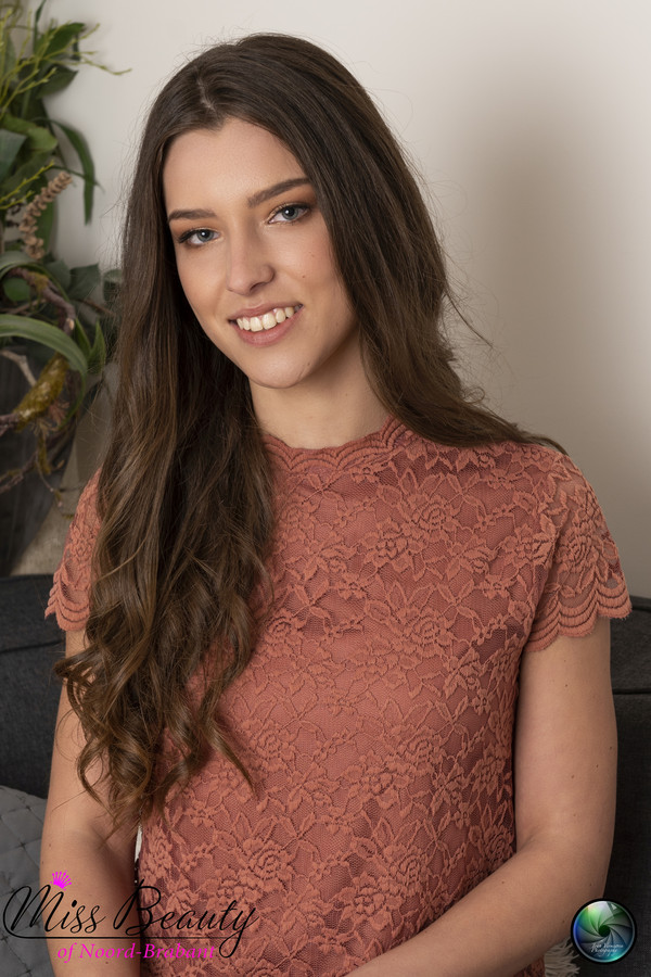 Miss Teen of Noord-Brabant: Nikki van Laar uit Waspik doet mee.