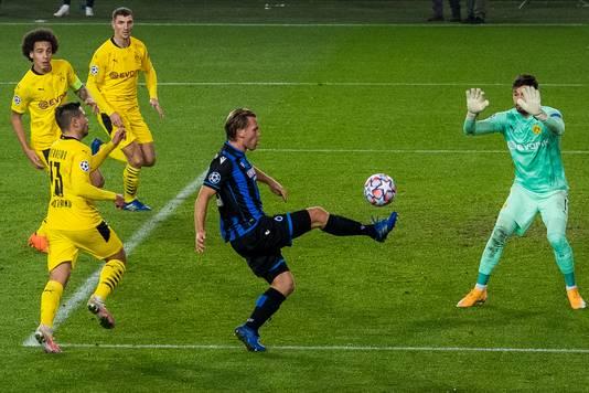 Ruud Vormer tegen Dortmund.